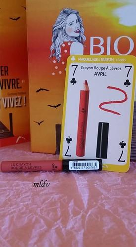 Crayon rouge à lèvres AVRIL