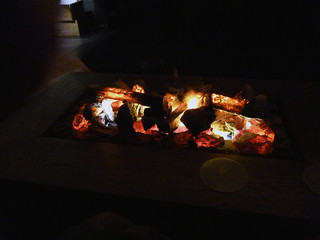 prototype bonfire table with leds and an ultrasonic humidifier | by denAsuncioner