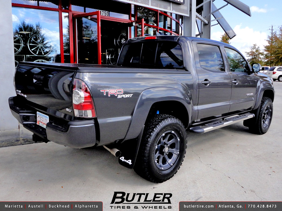 Toyota Tacoma With 17in Atx Ledge Offroad Wheels