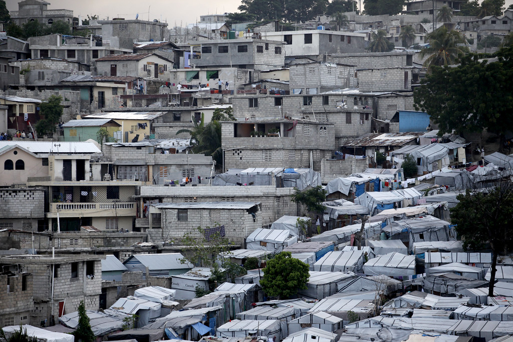Help For Haiti >> A view of Delmas 32, a neighborhood in Haiti which many re… | Flickr