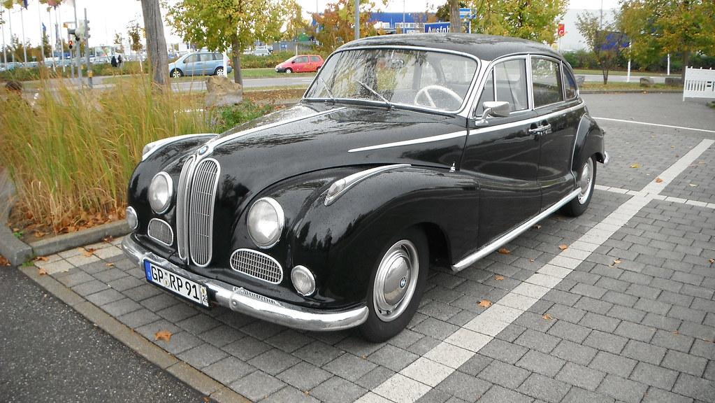 BMW 502 Super V8 (1954 -1963) | de.wikipedia.org/wiki/BMW_50… | Flickr