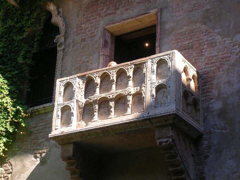 Il terrazzo di Romeo e Giulietta a Verona | Verona | Viviana | Flickr