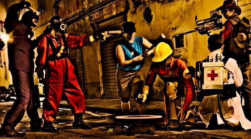 Team Fortress 2 - cosplay | by Fabrizio Di Pietro