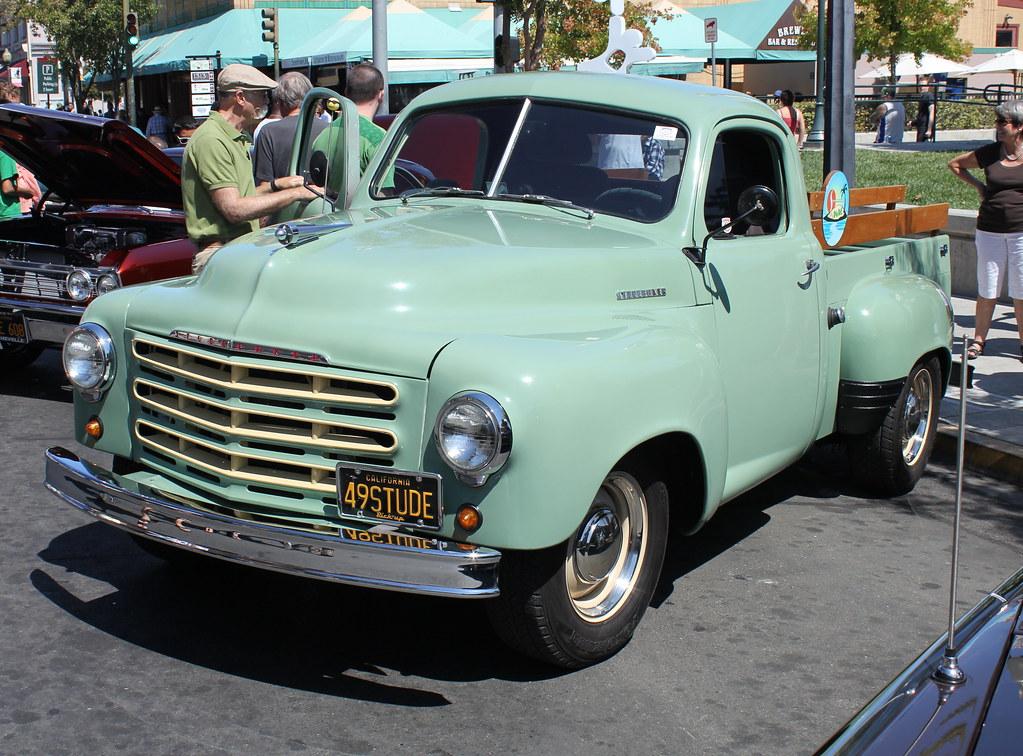 A Rare Vintage American Pickup Truck - 1949 Studebaker 2R5… | Flickr
