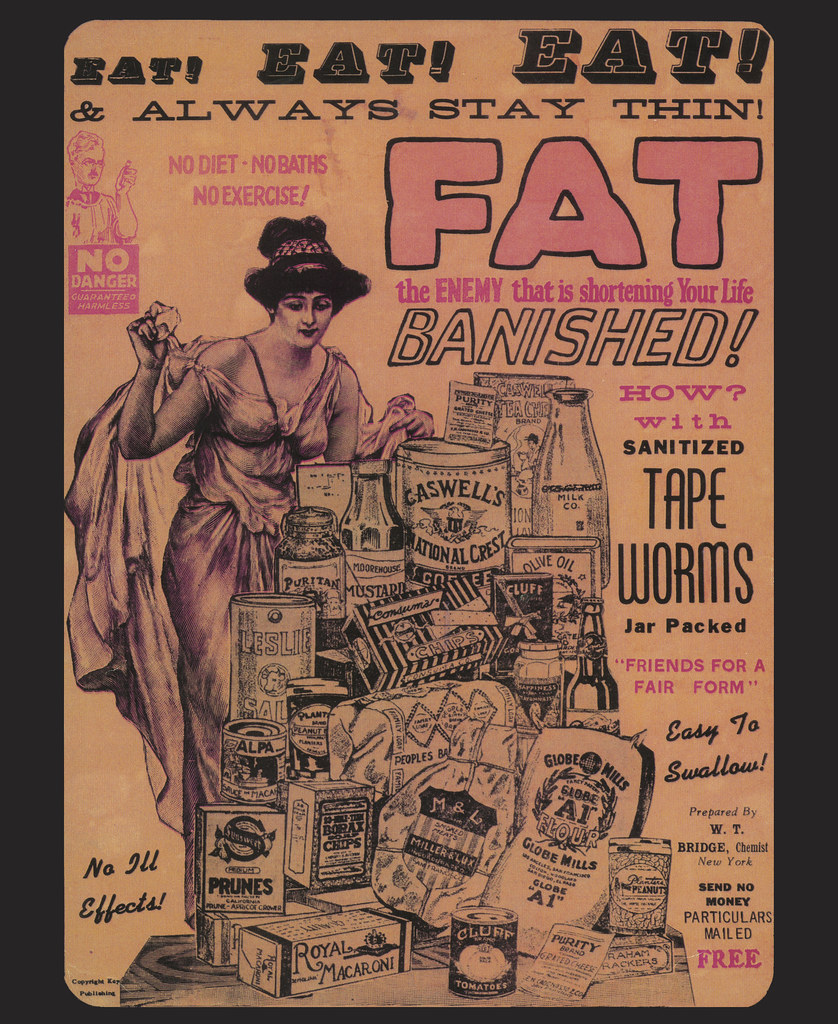 Weight-Loss Ad (FDA 154) | In the perennial battle of will ...
