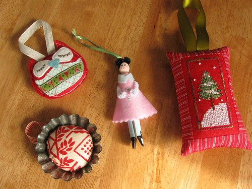 trim the tree swap ornaments received | by quirky granola girl