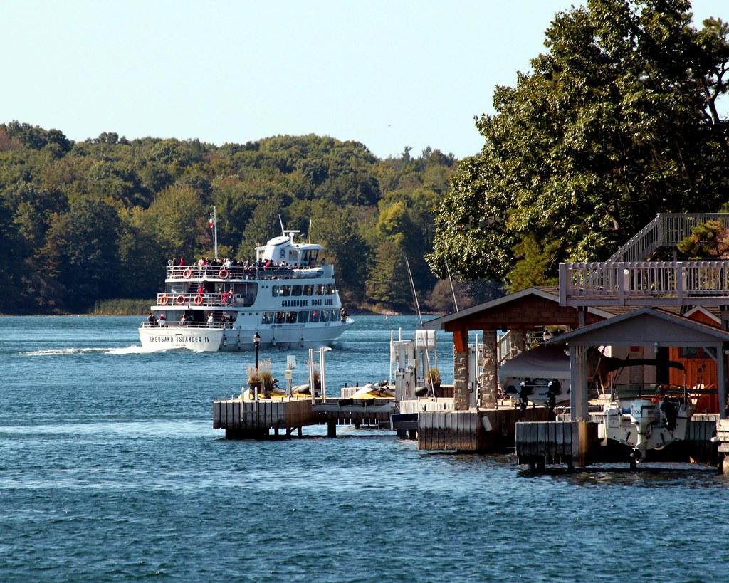 1000 islands cruise gananoque boat line rockport canada