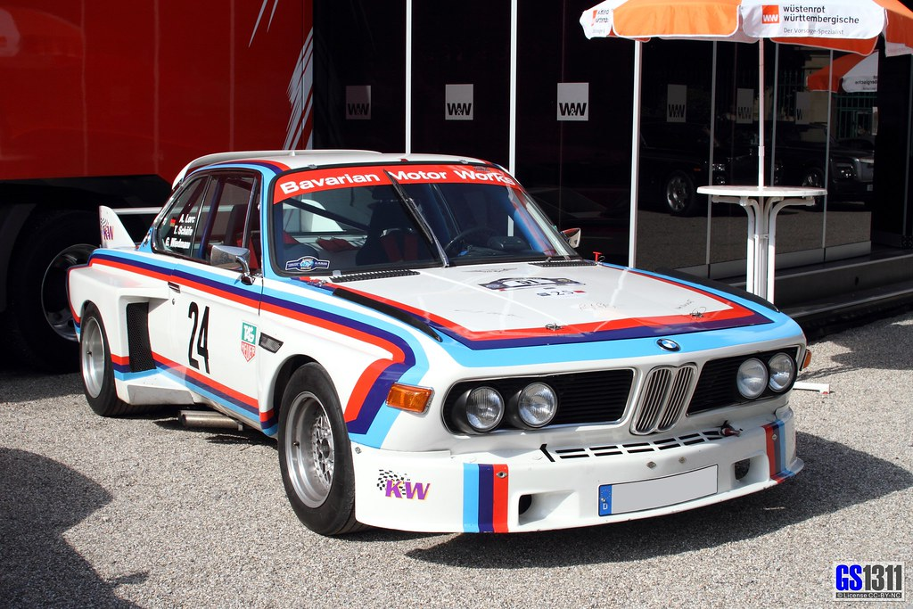 1971 BMW E9 3.0 CSL | Introduced in May 1972, the 3.0CSL was… | Flickr