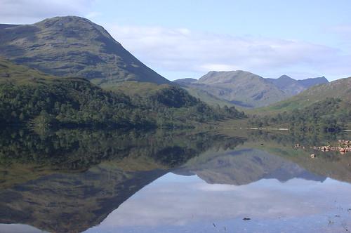 Loch Arkaig Reflection (DSCN4219)
