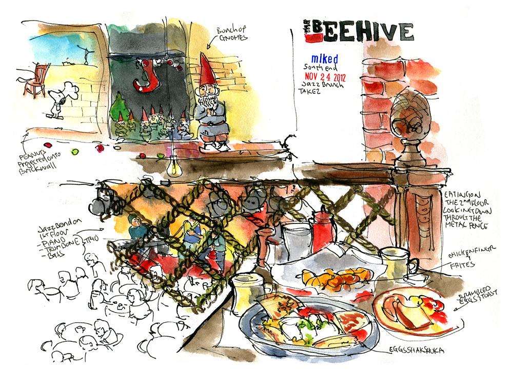 Beehive Jazz Brunch | by mikedaikubara Beehive Jazz Brunch | by  mikedaikubara