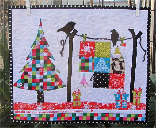 The Christmas Quilt,( sew, vote, swap round 8) | by nanotchka