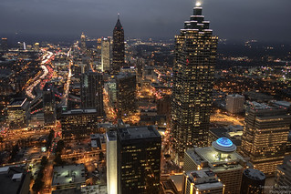 Atlanta @ night | by Terence S. Jones