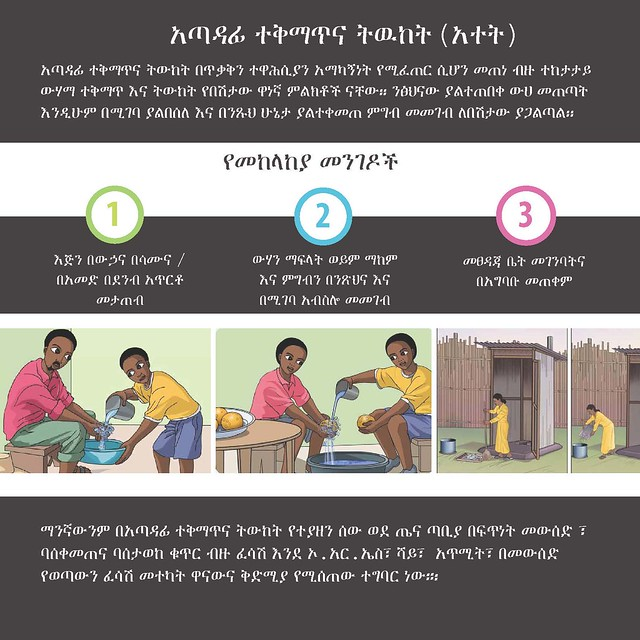 AWD message in Amharic