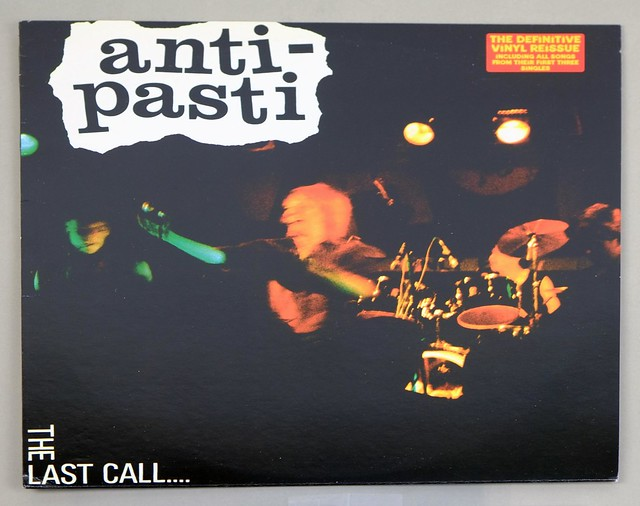 "ANTI-PASTI THE LAST CALL ITALY 12"" LP VINYL"
