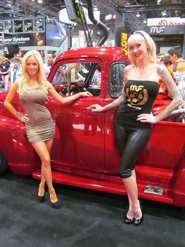 2012 Sema Booth Babes 30 Magnaflow Amanda Landry And