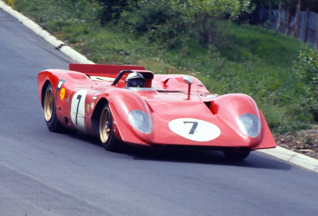 Ferrari 312P Pedro Rodriquez Chris Amon 1969