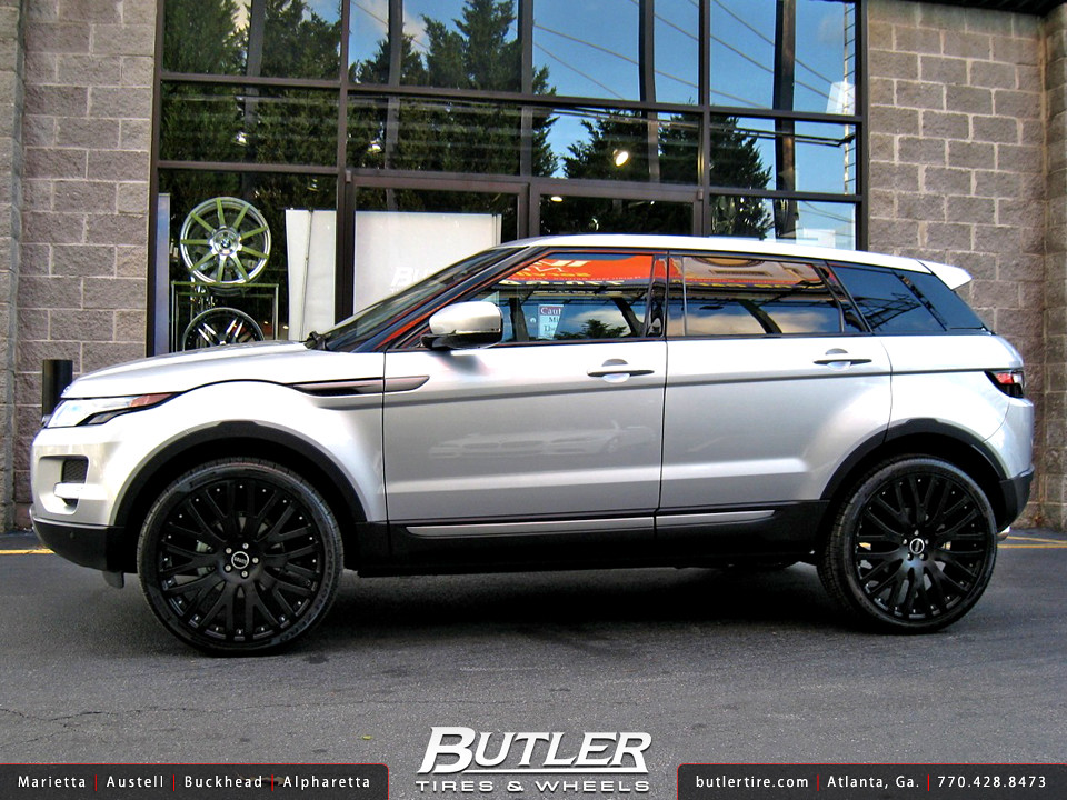 Range Rover Evoque With 22in Marcellino Mesh Wheels Flickr