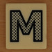 PAIRS IN PEARS Dotted Letter M