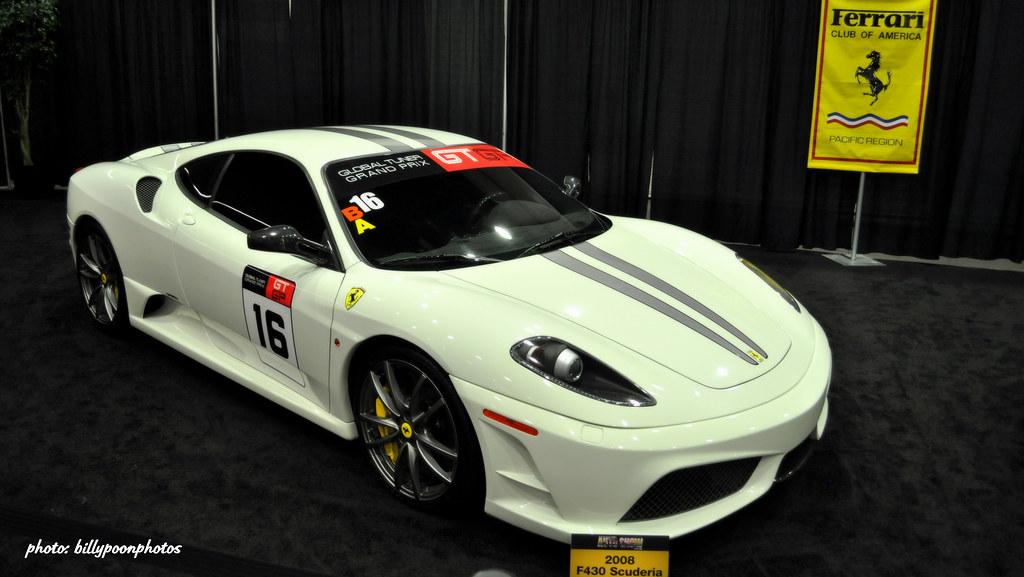 2008 Ferrari F430 Scuderia 2012 San Francisco Auto Show Flickr