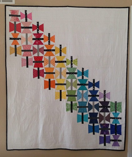 Butterflies and Rainbows ~ Faith Do.Good Stitches September Quilt | by ~Me1issa