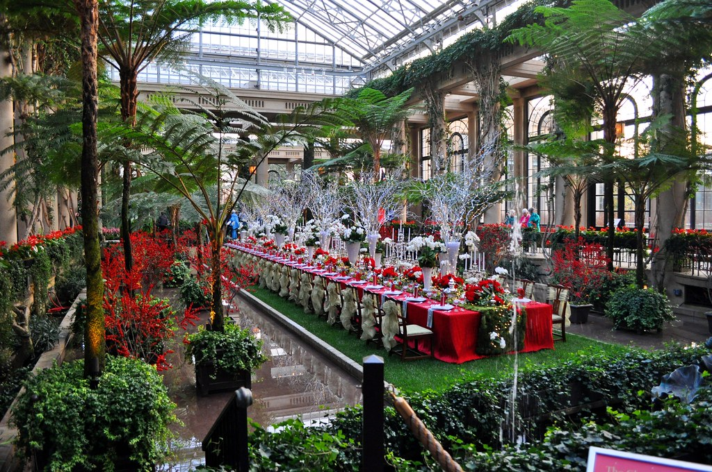 Longwood Gardens Christmas 2012 Elaine K Flickr