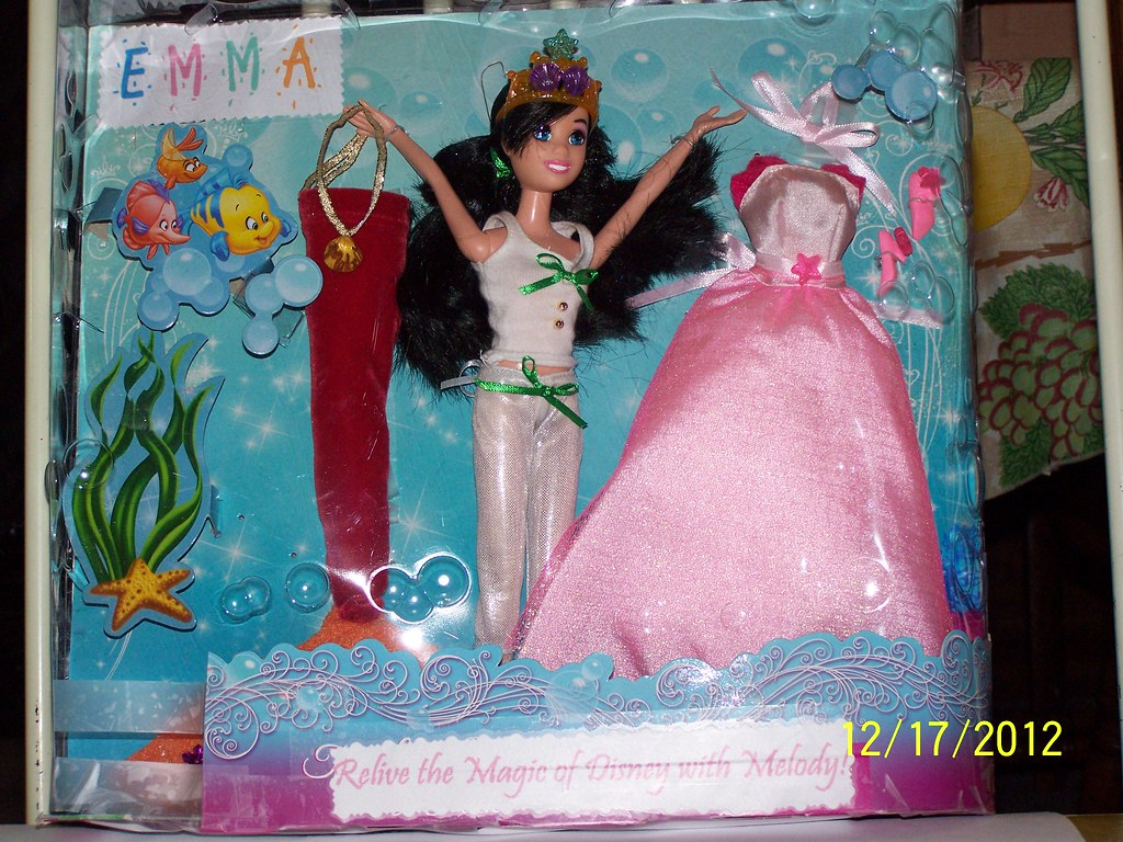 Melody Gift Set Front The Little Mermaid Ii Return To