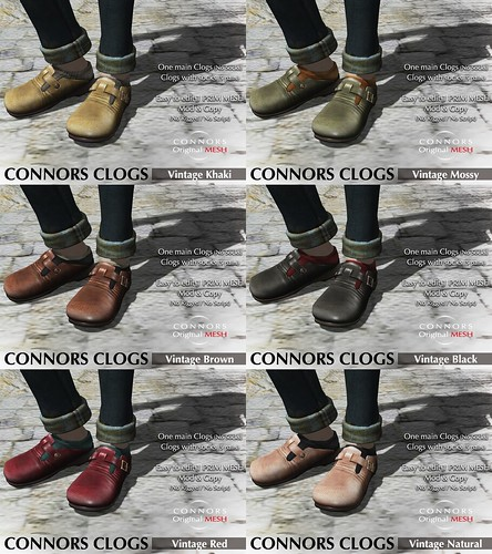 Clogs Vtg | by *Connors*