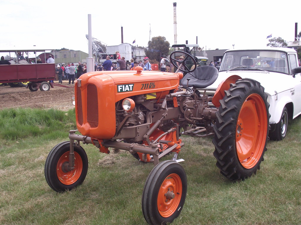 1960 Fiat 211rb Tractor 1960 Fiat 211rb Tractor That Was