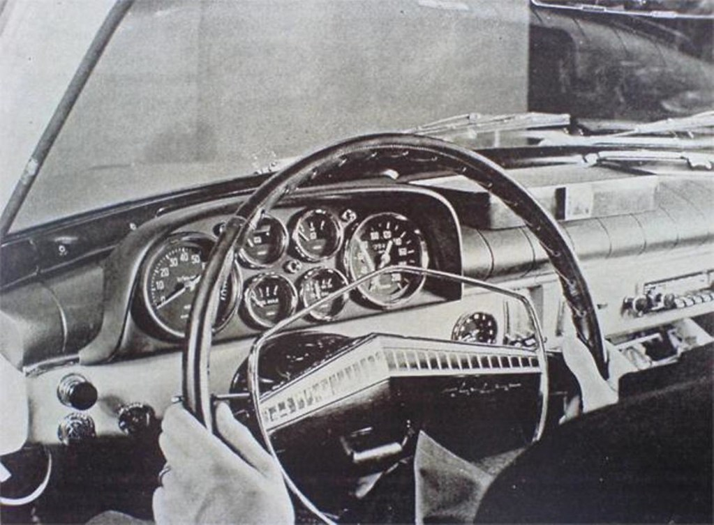 Volvo 122 Steering Wheel With Rally Dash Volvo 122 Rally