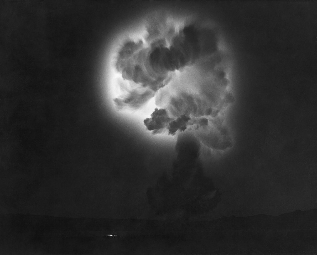 Operation Plumbbob Shot Diablo Ionization Glow | by rocbolt