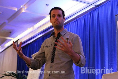 Pete Williams speaking at the Business Blueprint Conference - July 2012 | by Preneur Marketing