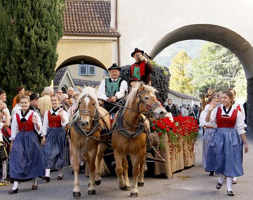 Traubenfest festa dell 39 uva bildnachweis erforderlich for Azienda soggiorno merano