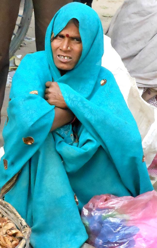 Market woman | A woman on the Sonagiri market next to the ...