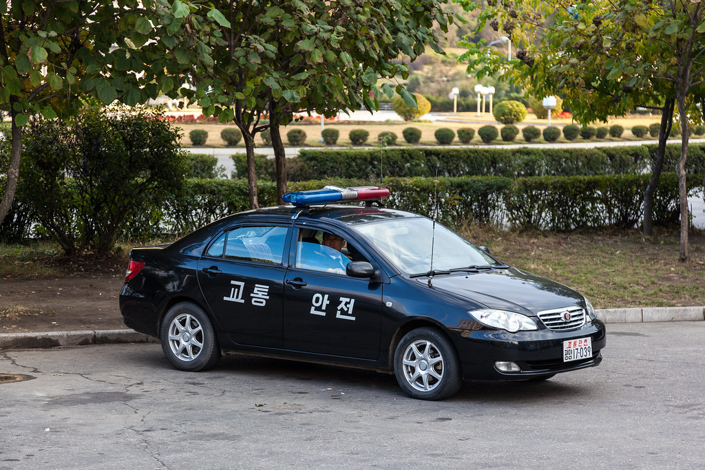 Police Car - Pyongyang | The crappiest attempt at a Police ...
