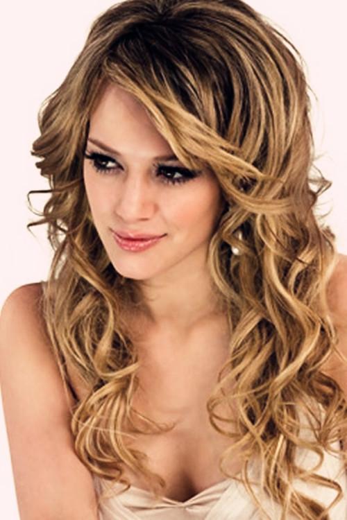 Phenomenal Long Loose Curls Wedding Hairstyle 201239S Top Wedding Hair Flickr Short Hairstyles For Black Women Fulllsitofus