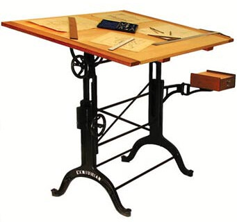 Old Drafting Table | By Sinedexer Old Drafting Table | By Sinedexer