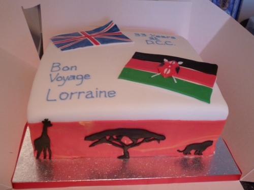 Emigrating to Kenya cake | ac1967 | Flickr