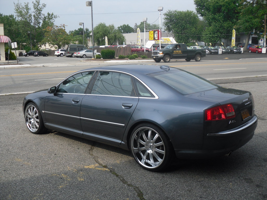 Rayco 2 Nj Audi A8 Concept One Rs10 Wheels Staggered Machi