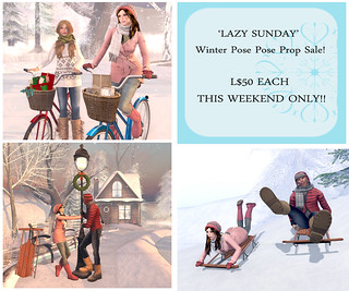 {what next} Winter & Christmas pose prop sale for Lazy Sunday | by WinterThorn