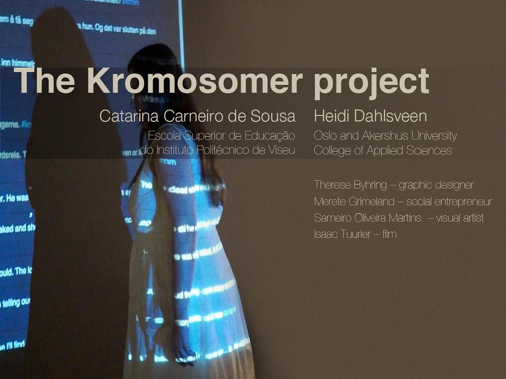 kromosomer project presentation kromosomer project present flickr