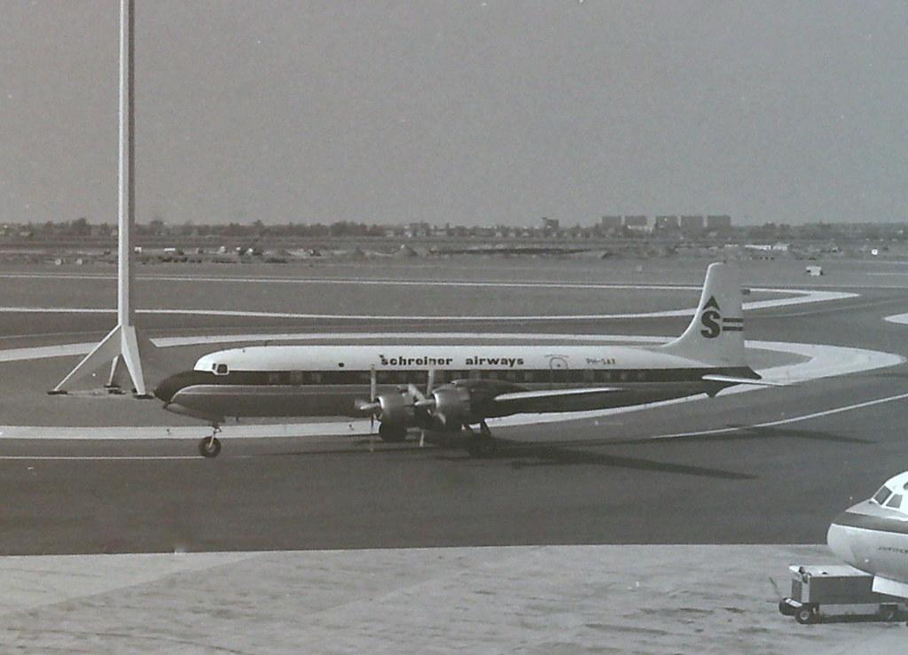 Schreiner Airways Dc7c Ph Sax Schiphol Summer 1967 Month B Flickr
