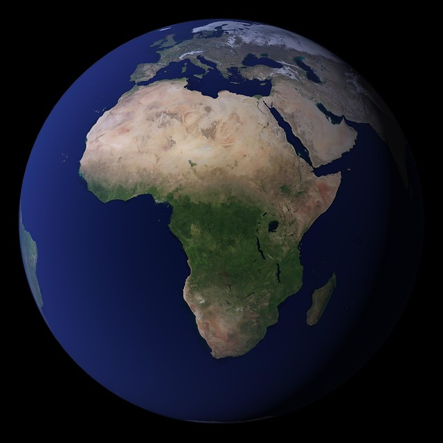 The Blue Marble, Africa