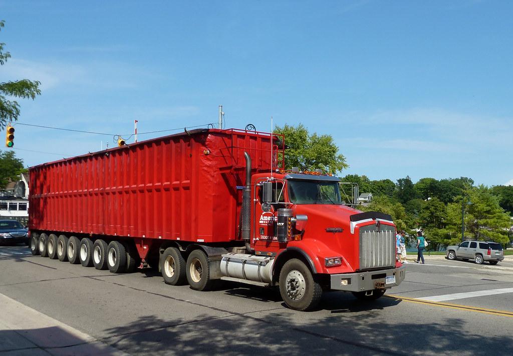 American Waste's 42 Wheeler KW | Charlevoix, Michigan. When … | Flickr