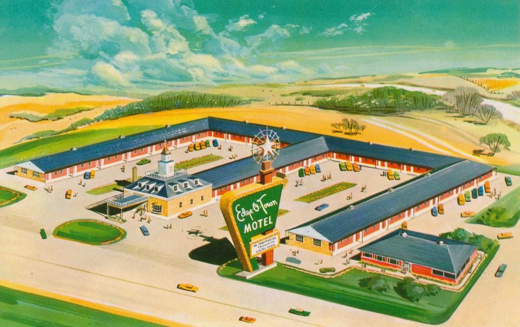 Edge-O'-Town Motel - Rockford, Illinois