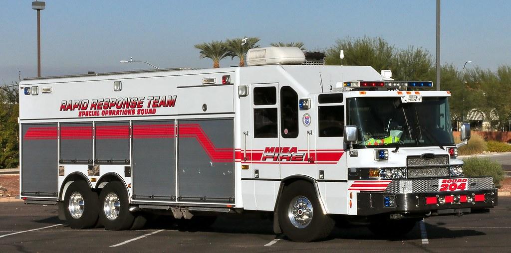 mesa arizona fire department squad 204 20xx pierce quantum image7801 flickr. Black Bedroom Furniture Sets. Home Design Ideas