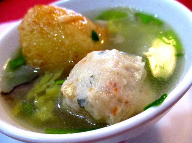 Golden Happiness meatballs