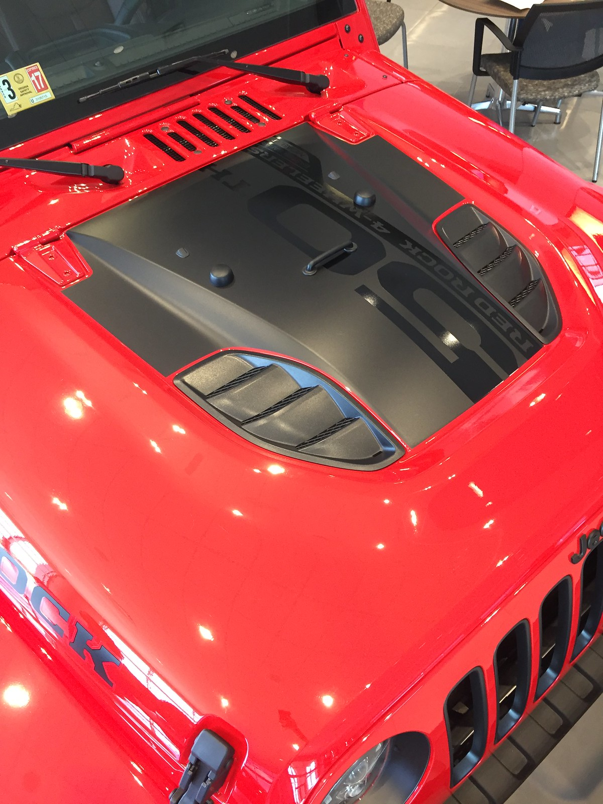 Jeep Wrangler For Sale Ontario >> Black Power Dome hood decal similar to Red Rock ? - Jeep ...
