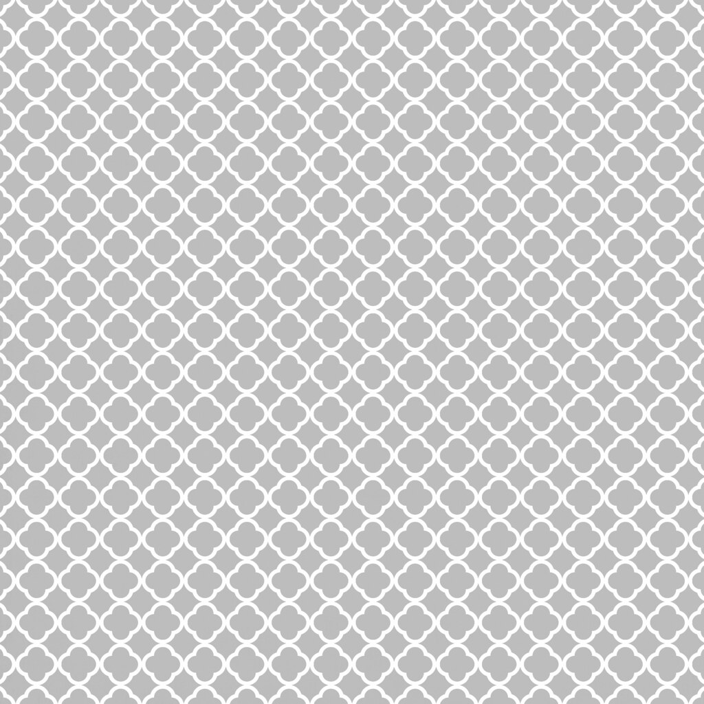Light Grey Patterned Kitchen Floor Tiles