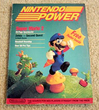 The First Issue of Nintendo Power Magazine | by methodshop.com