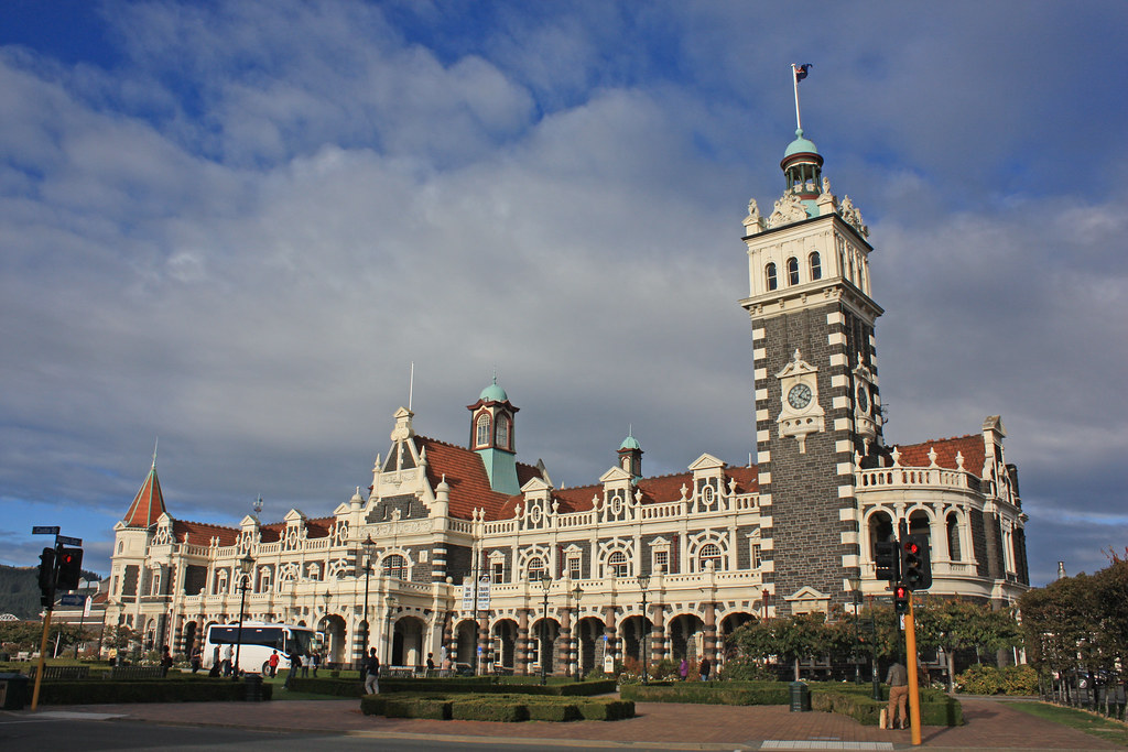 Dunedin Railway Station, New Zealand. | It is claimed that ...